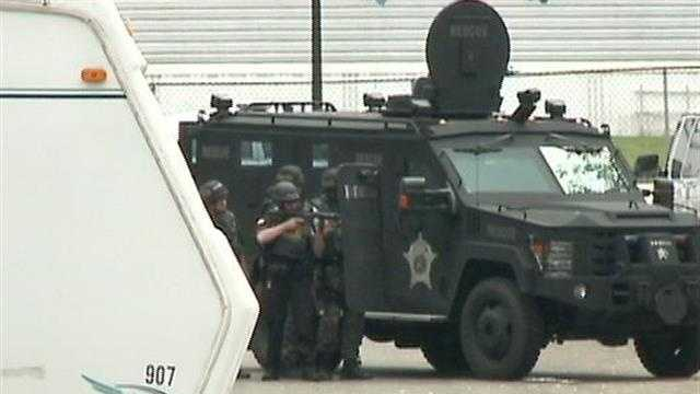 A nearly five-hour standoff in a Milwaukee County mobile home park ends in a man's arrest.