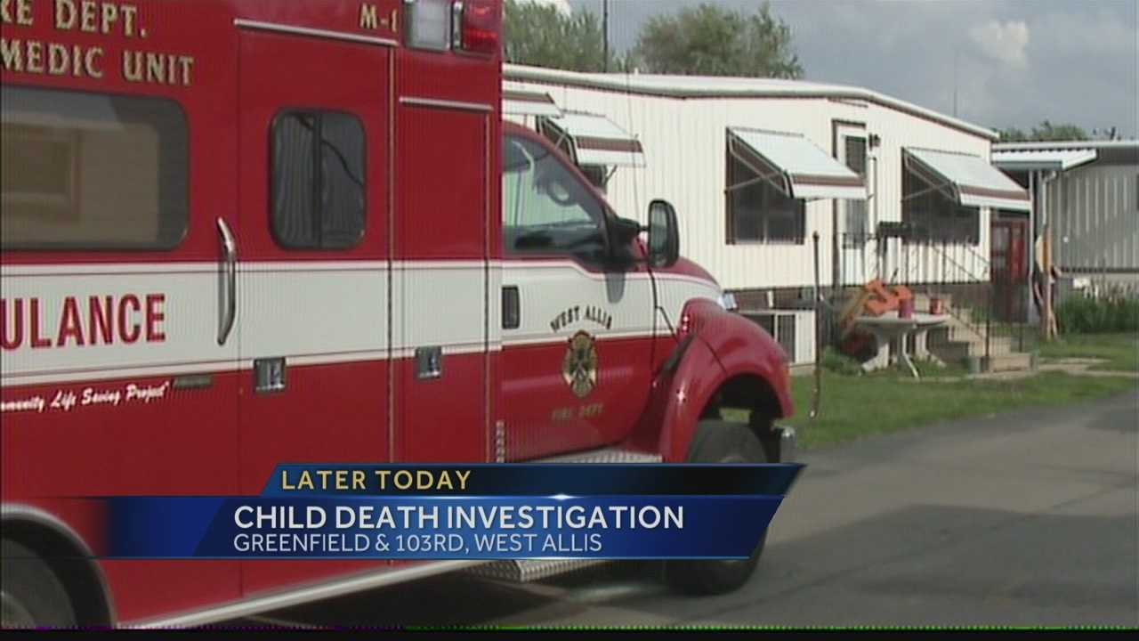 An autopsy is scheduled for today in the death of a West Allis toddler.  WISN 12 News' Abe Lubetkin reports from the scene.