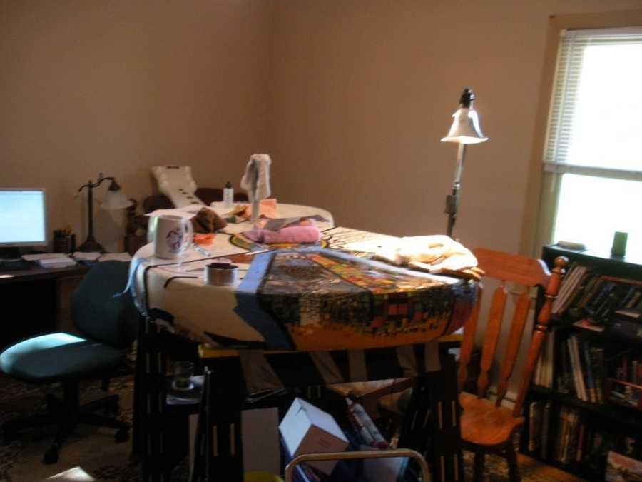The indoor workshop