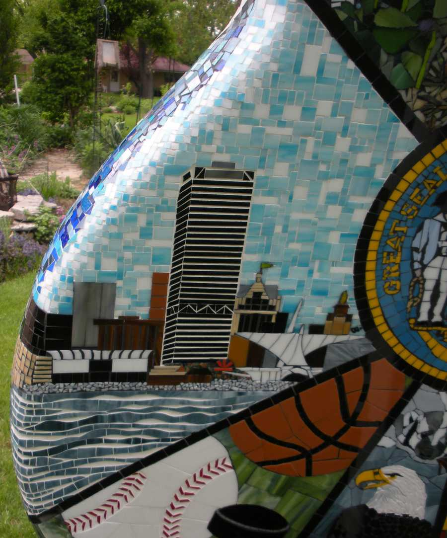 Milwaukee's skyline is represented on the back.