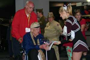 The guardians pay $500 (to cover costs) for the privilege of escorting one of the veterans.