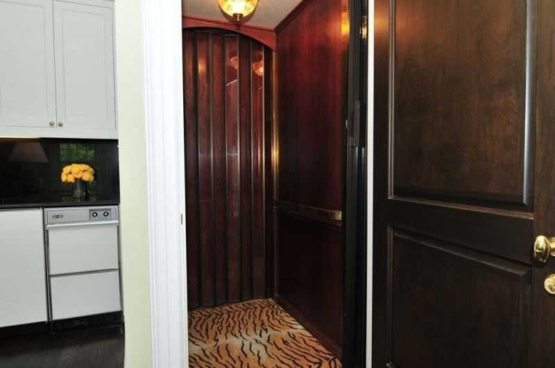 This elevator goes to one of two master bedrooms suites.  For more information on this property, click here.