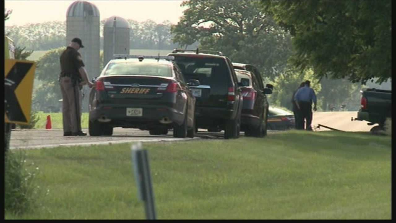 Walworth County Sheriff David Graves says several deputies were involved in a shooting Thursday morning.