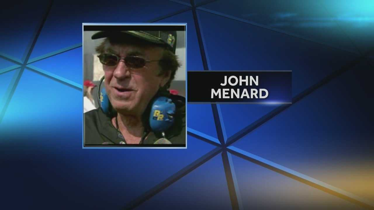 Wisconsin billionaire John Menard Jr. is being sued by the wife of a former business partner for sexual extortion.