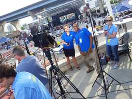The crew ready for WISN 12 News at 6:00.