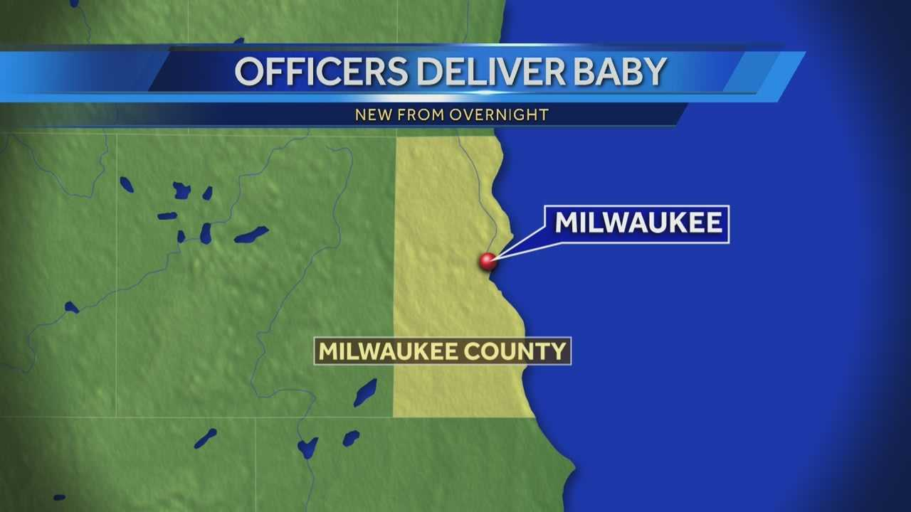 img-Milwaukee police deliver baby map