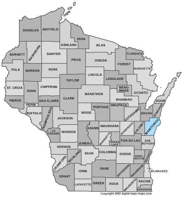 Manitowoc County: 7.3 percent, down from 8.1 percent in April