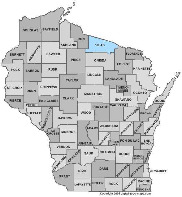 Vilas County: 9.3 percent, down from 12.3 percent in April