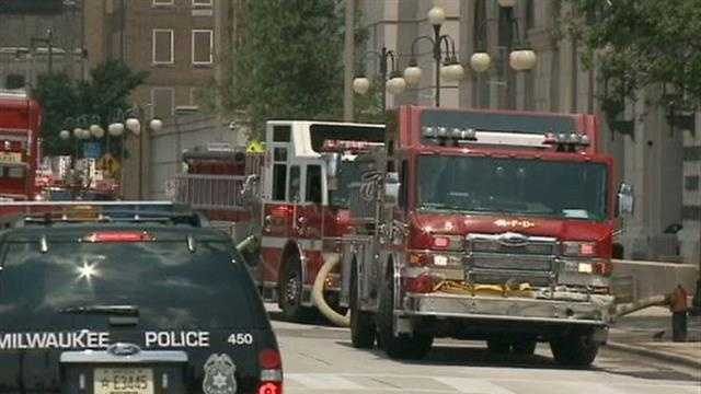An electrical fire at the Milwaukee County Courthouse leads to a power outage at the Milwaukee County Sheriff's 911 Communications Center.