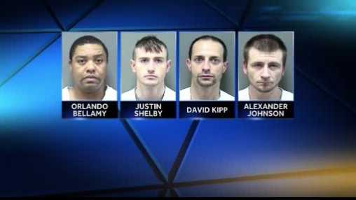 four date rape suspects