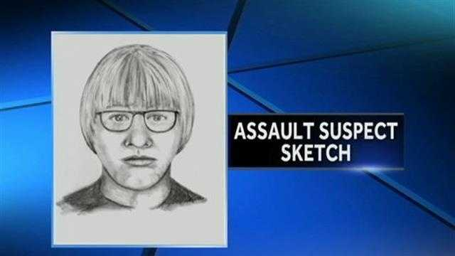 Search for suspect in park assault