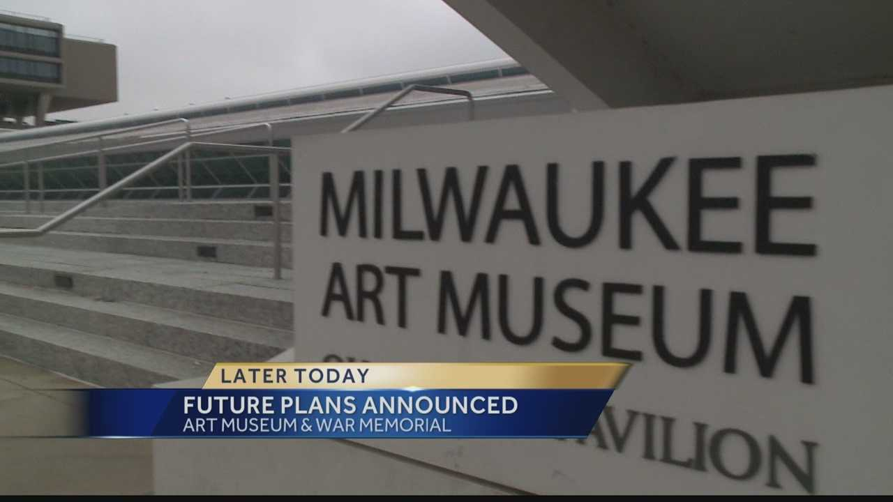 The groups operating Milwaukee's Art Museum and War Memorial are expected to announce operation plans on Tuesday.