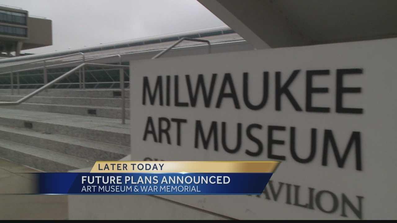 Milwaukee art museum, war memorial to announce plans