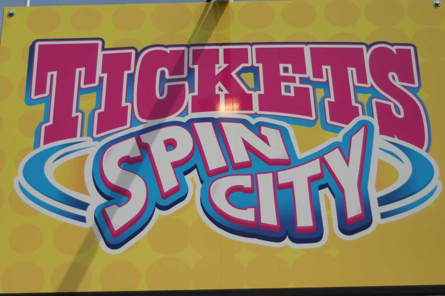 Tickets can also now be used for the carnival games.