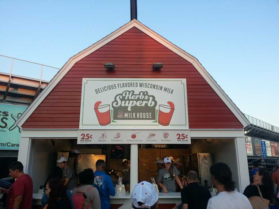 Herb's Superb Buck's Milkhouse has moved. It is now near the Expo Center.