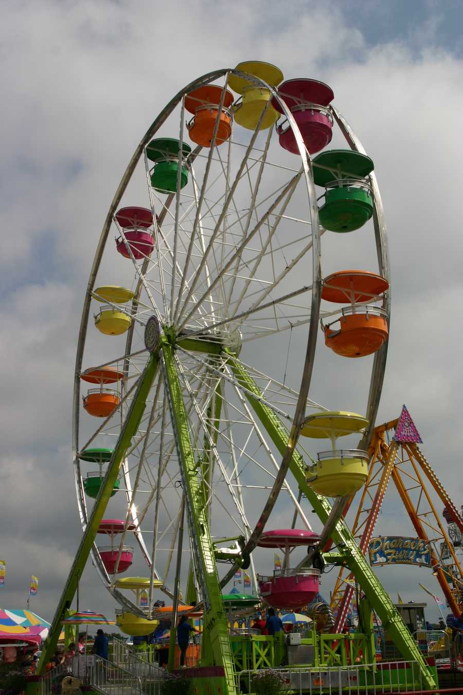 """The midway is now called """"Spin City""""."""