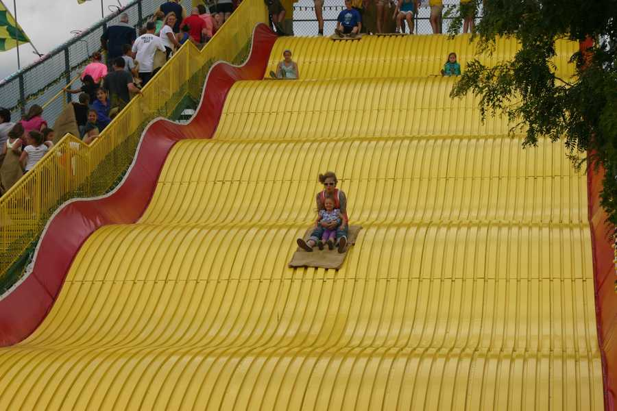 Rides are $2.50 per person. You get a great view from the top!