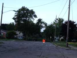 By 7 a.m., police estimated that 45 percent of the city remained without power.