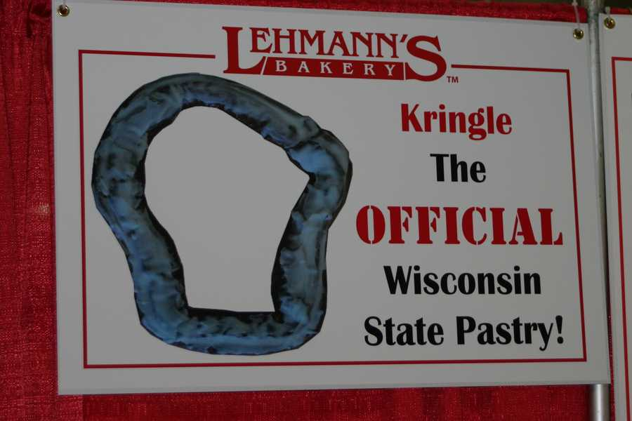 Kringle is now the official Wisconsin State Pastry.
