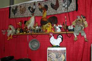 "The Wisconsin Poultry & Egg products booth has many ""egg-citing"" things to try. How about a duck fajita or chicken sandwich?"