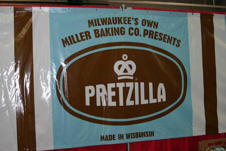 Milwaukee's own Miller Baking Co offers Pretzilla bread.