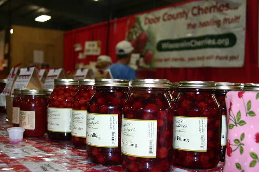Door County cherries, from where else?