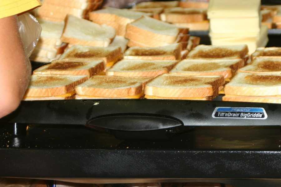 Comfort food alert! Wisconsin grilled cheese.