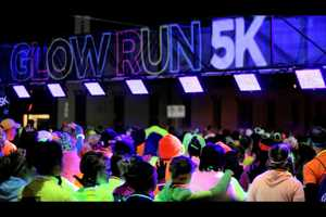 The black light show of the Glow Run takes place in Madison, Wisconsin