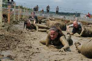 Takes place atMiller Parkon October 30, 2013,The Spartan Race covers more than 12 miles and 25+ obstacles.