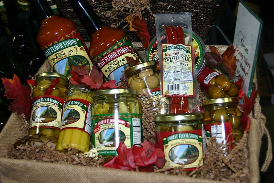 From Eden, Wisconsin there is Forest Floor Foods offering Premium Pickled Vegetables, Distinctive Stuffed Olives, and Refined Drink Mixes.