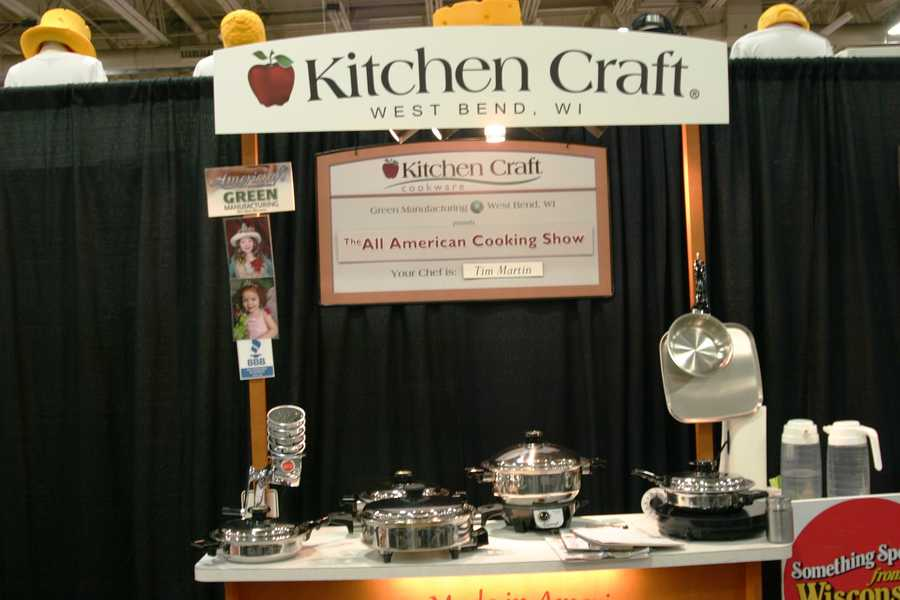 New cookware?  Kitchen Craft is made right here in West Bend, WI.