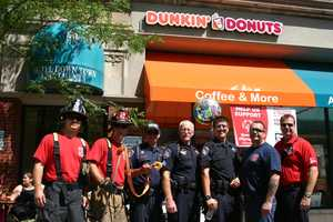 Thanks to the Wisconsin State Fair Police and Ladder 2 crew for helping the event downtown.