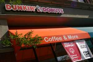 Dunkin Donuts partnered with Special Olympics and local law enforcement for this fund raiser.