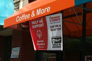 Many of the area Dunkin Donuts participated.