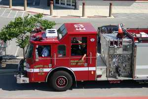 Milwaukee Fire Department was here to help, until they got an emergency call.
