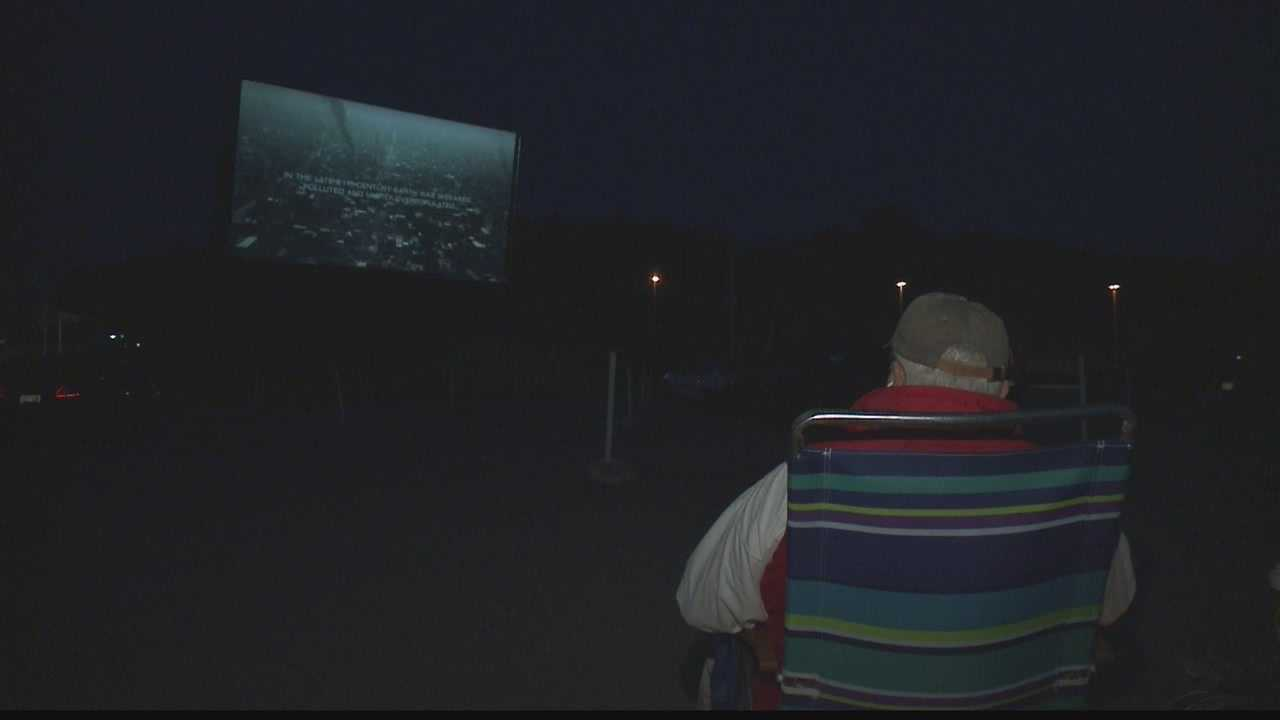 There were thousands of drive-in move theaters in the 50's, now there are just a couple hundred across the country.