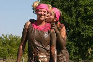 The Dirty Girl Mud Run 5k obstacle course/fun run for women only!