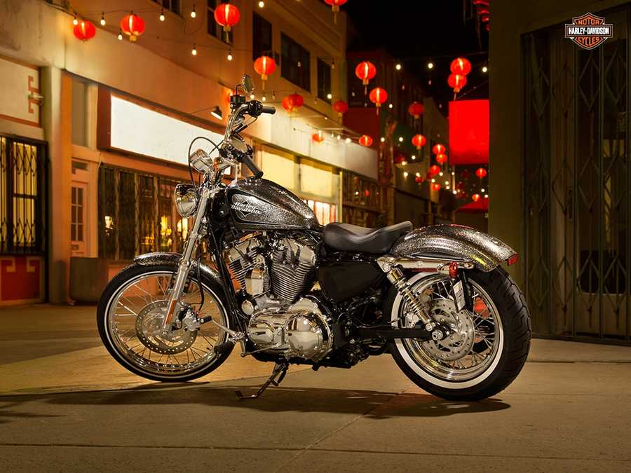 The new 2014 Harleys are here! Take a look at the new models:2014 Sportster Seventy-Two