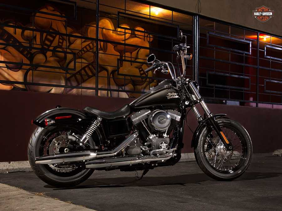 The new 2014 Harleys are here! Take a look at the new models:2014 Dyna series Street Bob