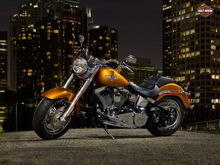 The new 2014 Harleys are here! Take a look at the new models:2014 Softail series Fat Boy
