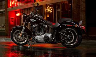 The new 2014 Harleys are here! Take a look at the new models:2014 Softail series Fat Boy Lo