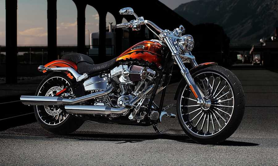 The new 2014 Harleys are here! Take a look at the new models:2014 CVO series Breakout