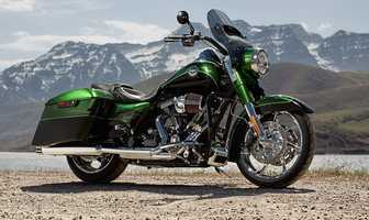 The new 2014 Harleys are here! Take a look at the new models:2014 CVO series Road King