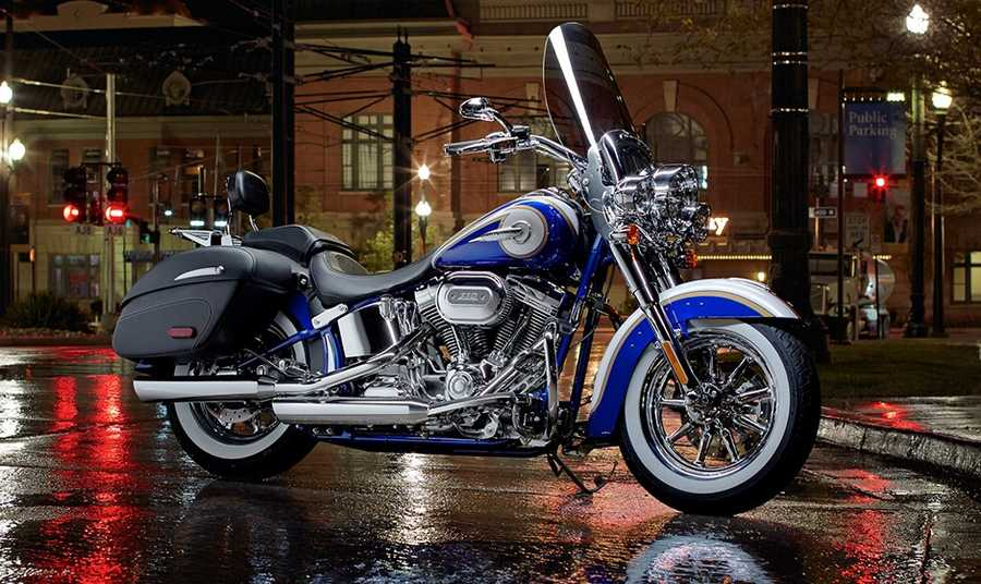 The new 2014 Harleys are here! Take a look at the new models:2014 CVO series Softail Deluxe