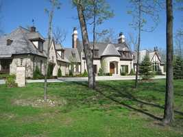 This home is on the market for $3,950,000. It includes a two-stall horse stable and paddock, a private lake and 30 acres of land. The house has more than 5,000 square feet of living space. For more information on this property, click here.