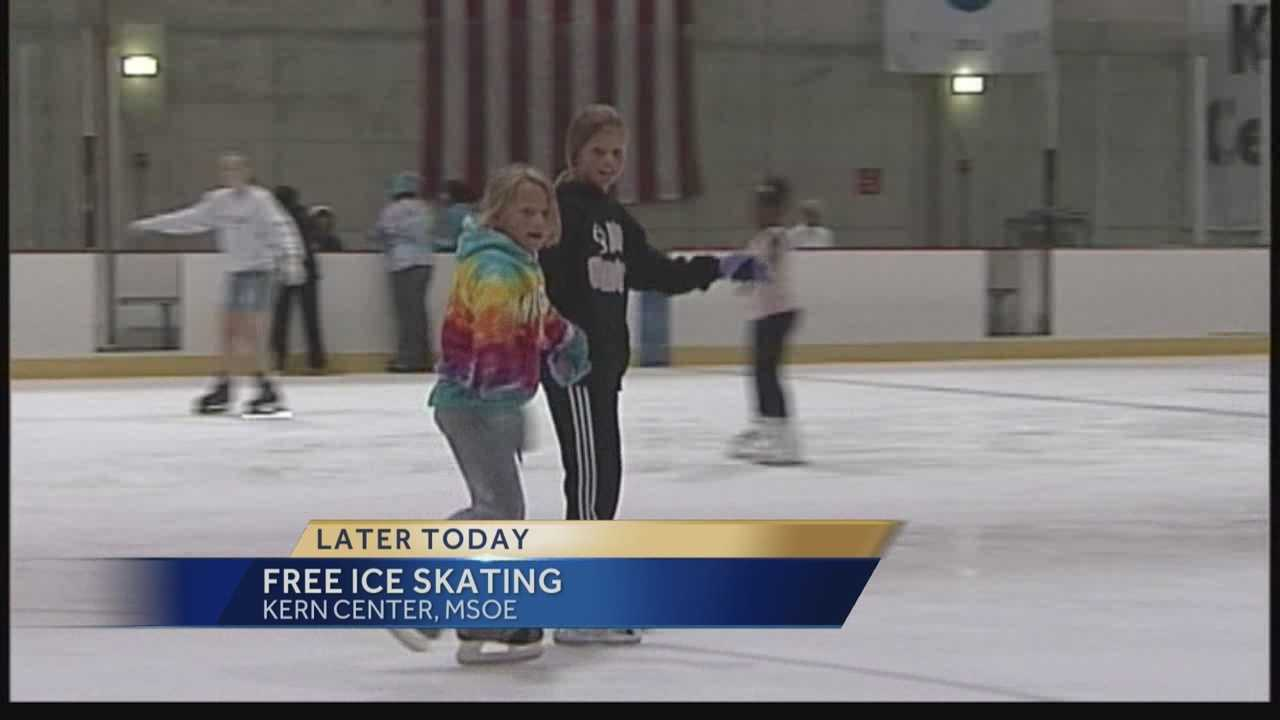 A great way to beat the heat Tuesday is by ice skating! MSOE is offering free ice skating at the Kern Center from 1 p.m. to 4 p.m.