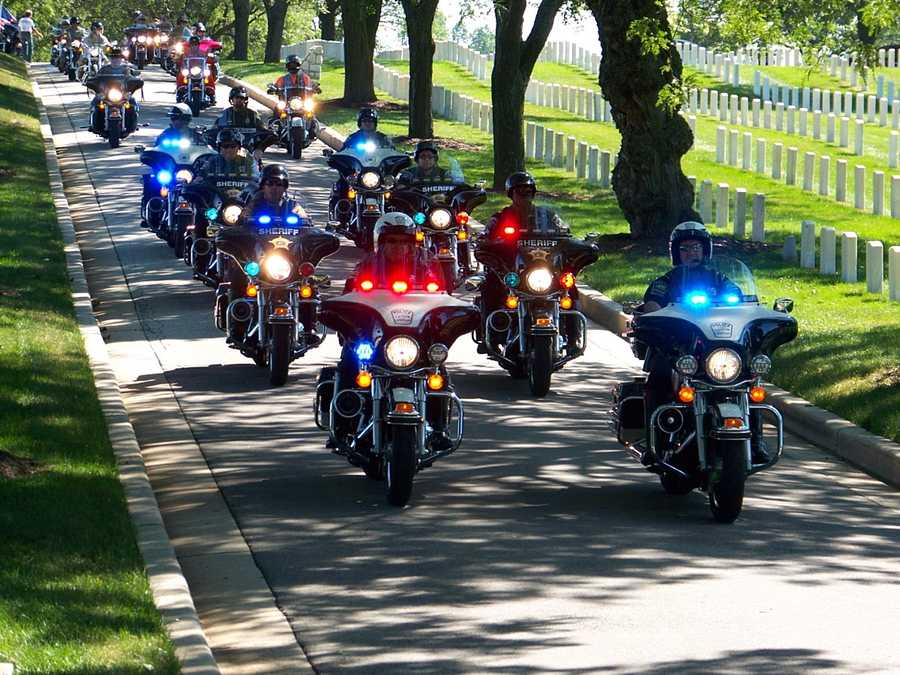 House of Harley estimated 1,000 riders would be participating in Wednesday's ride.