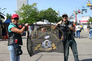 Harley riders from all across the world are converging in Milwaukee this weekend.