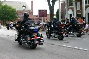 Many law enforcement agencies participated.