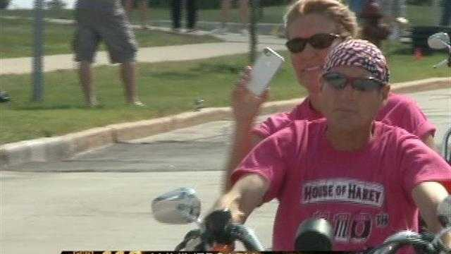 It was Women Riders Day at the House of Harley in Greenfield on Sunday.